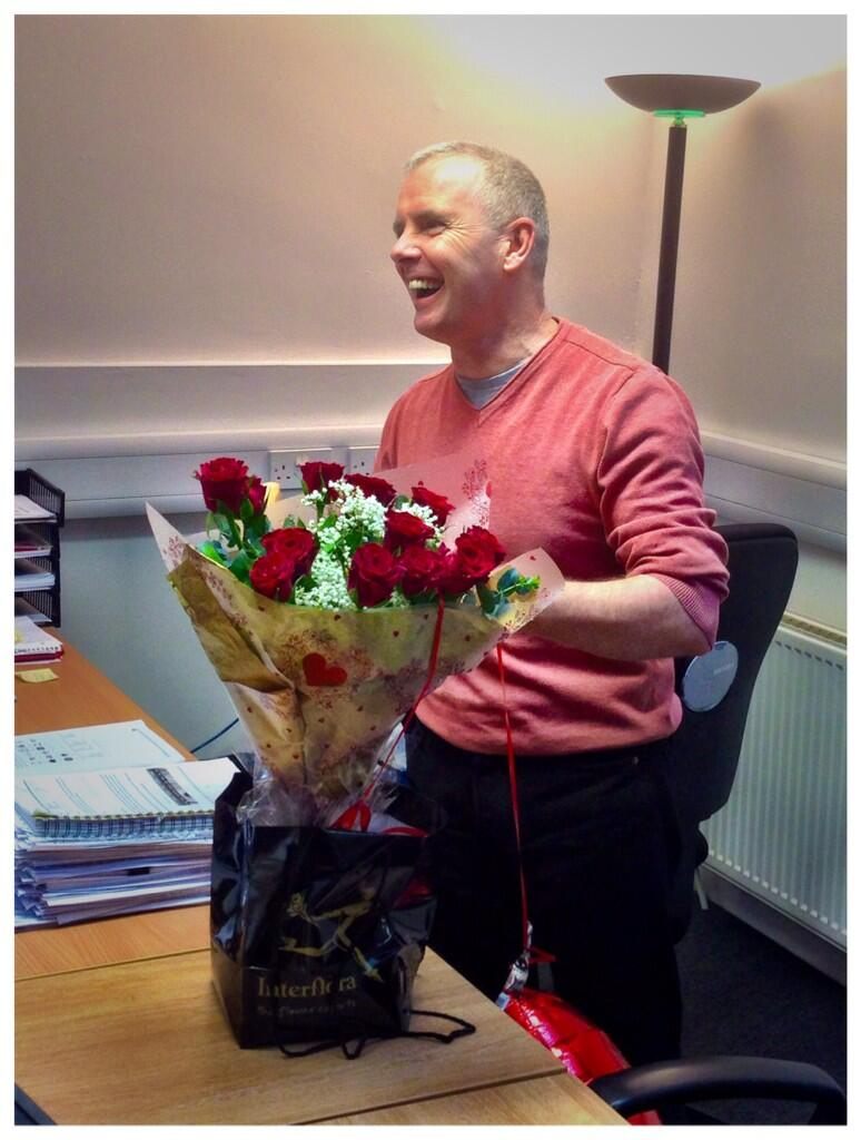 Julian get a surprise for Valentine's day