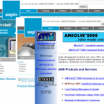 Aspin websites through the ages