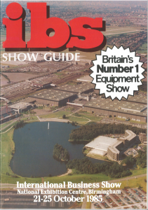 1985 Business Show catalogue