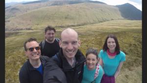 Group selfie shot