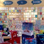 The Roger la Borde card collection in Hall 3