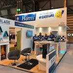 The LG Harris stand in full flow