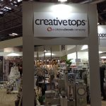 The Creative Tops stand in Hall 9