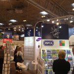Greeting card distributors Noel Tatt show off their range in Hall 3