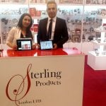 London based giftware distributors Sterling Products use PixSell at every trade event