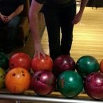 Our bowling ball arsenal