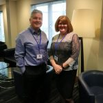 Paul Fallon and Sharon Byers from Carl Kammerling International