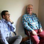 Doug with Martin Jacklin of Citizen Watch