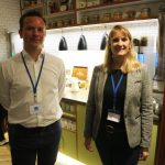 Nathan Aspin with Claire Scholes from Tregothnan