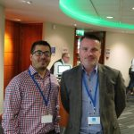 Doug with David Baker from Dunelm Optical