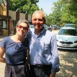 Lizzi with John Aspin