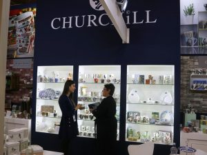 Churchill China use PixSell to sell their housewares ranges