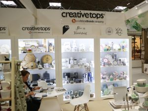 Creative Tops' stand in Hall 3
