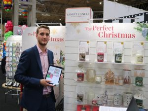 Sales rep Tom from Yankee Candle