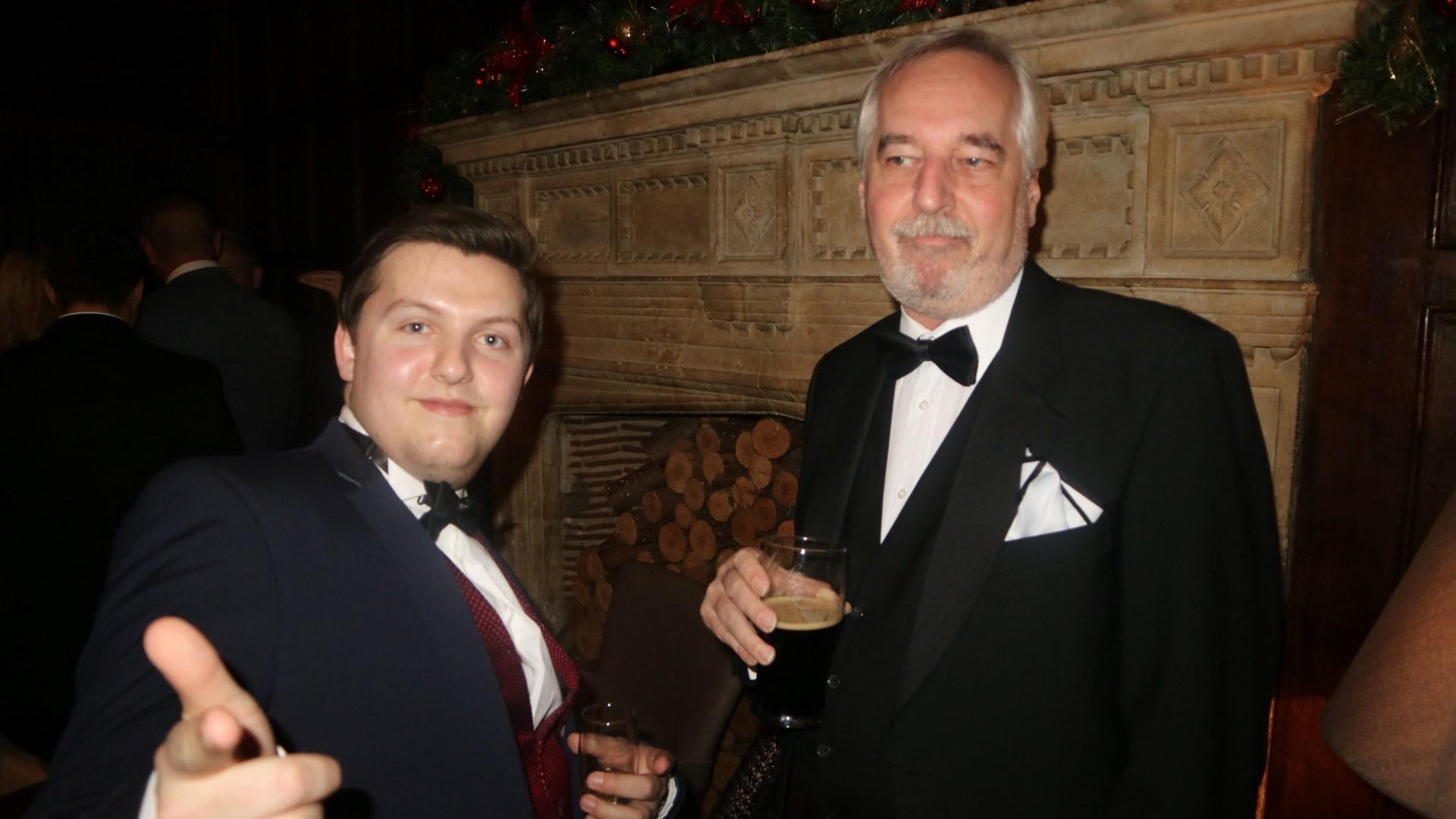 Harvey and John
