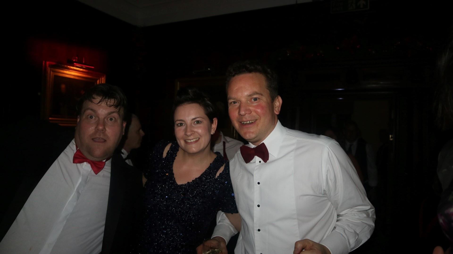 Chris, Lizzi and Nathan
