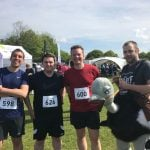 Aspin complete the Lymington 10k run