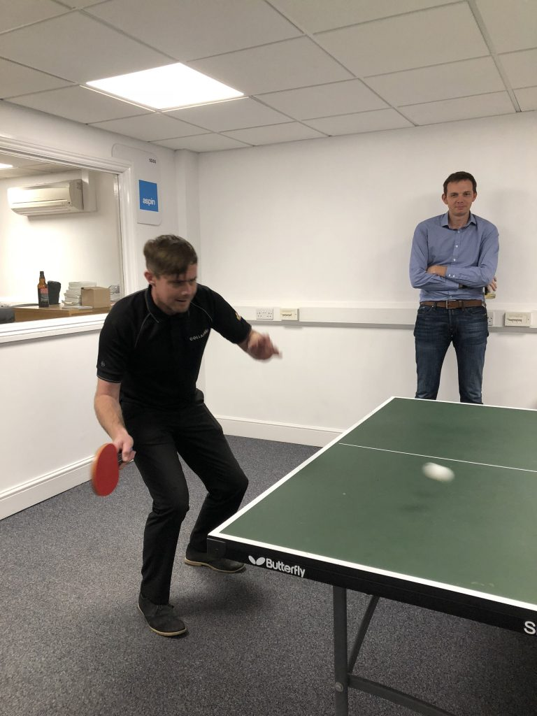 Simon takes on Chris