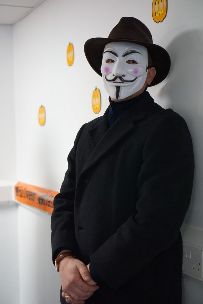 Guy Fawkes (Nathan!)