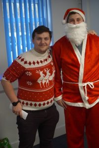 Santa confirms Harvo is on the nice list