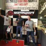 Doug, Richard & Ross, all very pleased with the results